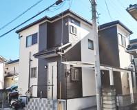 外壁塗装:パーフェクトトップ 屋根工事:ガルバニウム鋼板 施工地域:埼玉県八潮市
