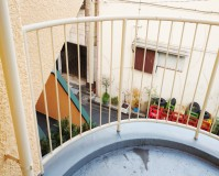 東京都墨田区マンションベランダ手摺のサビ止め塗装工事の施工事例(2020114)