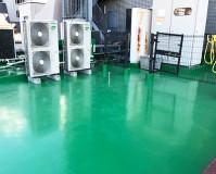 東京都文京区ビルの屋上防水工事の施工事例(20210127)