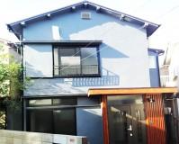 東京都杉並区戸建住宅の外壁塗装工事の施工事例(20210203)