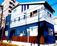 東京都足立区三階建住宅の外壁塗装工事の施工事例(20210208)