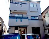 東京都足立区3階建住宅の外壁塗装・屋根塗装施工事例(2021.02.17)