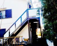 東京都江戸川区アパートの鉄骨階段塗装工事の施工事例(20210408)