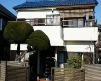 東京都足立区の一般住宅の外壁塗装工事の施工事例(20200428)