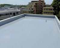 東京都杉並区オフィスビルの屋上防水工事の施工事例(20210506)