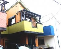 東京都中野区2階建住宅の外壁塗装・屋根塗装施工事例(2021,06,30)