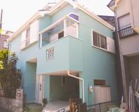東京都足立区2階建住宅の外壁塗装・屋根塗装工事の施工事例(20210902)